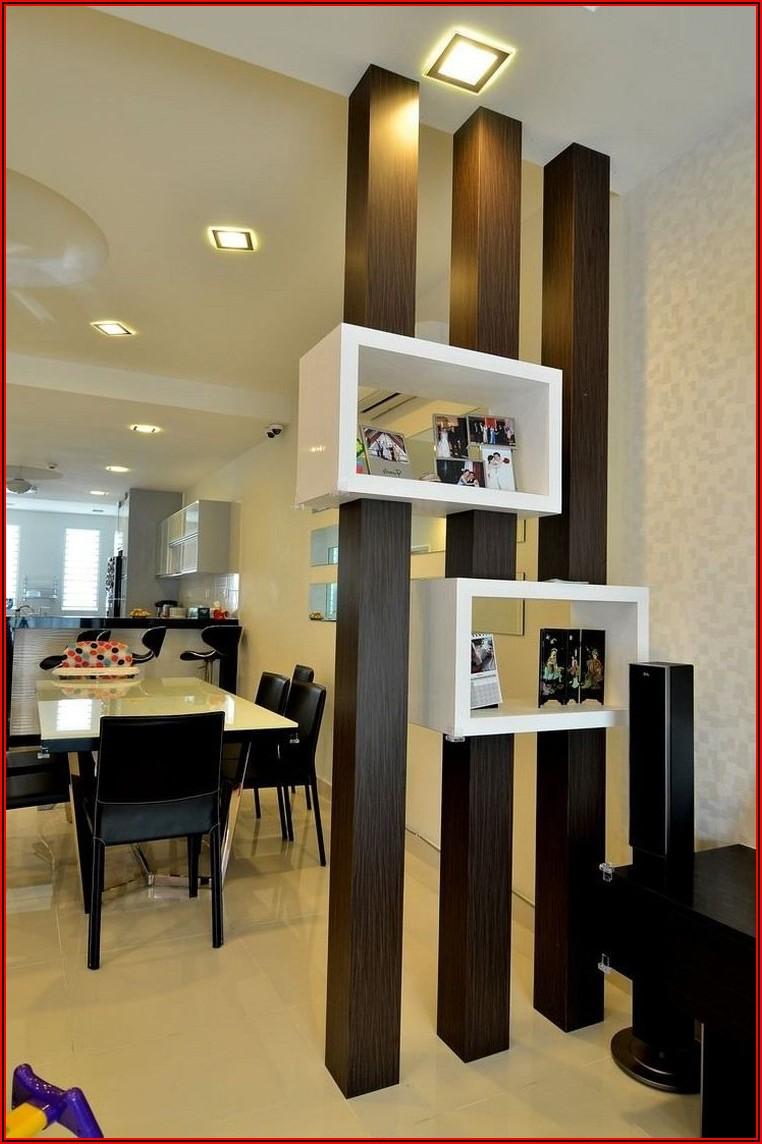 Raumteiler Ideen Wohnzimmer Küche