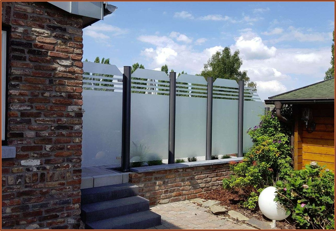 Sichtschutz Für Terrasse Bilder