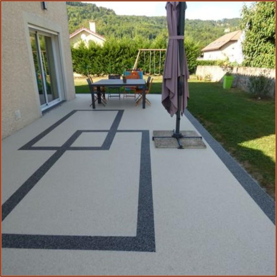 Steinteppich Terrasse Bilder