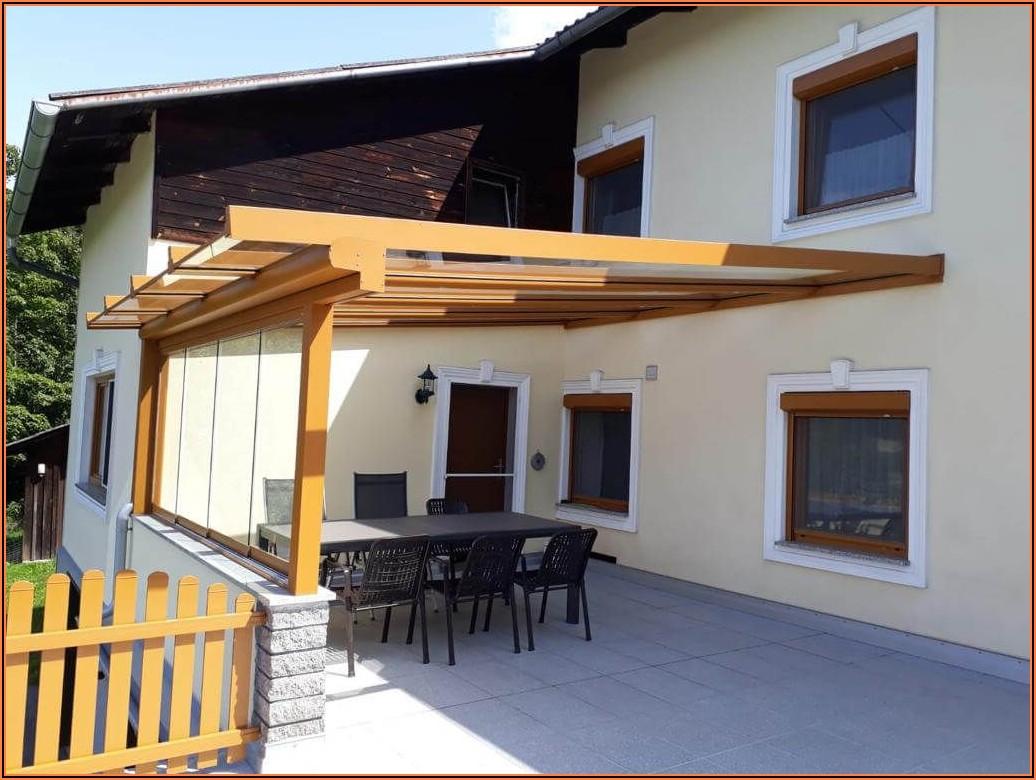 Terrassenüberdachung Holz Bilder