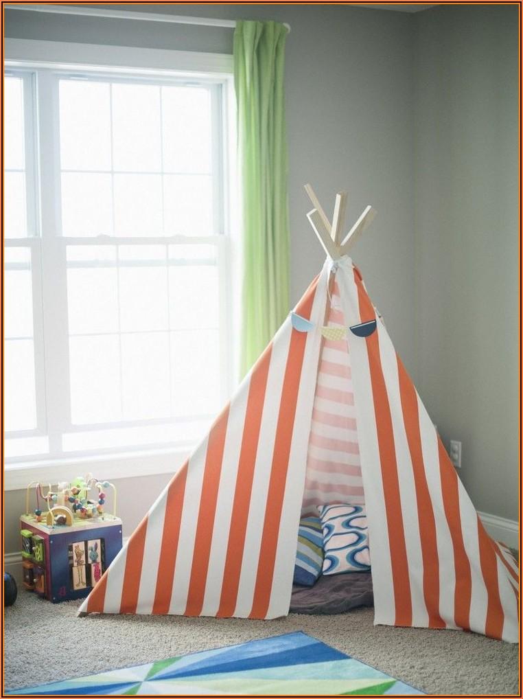 Tipi Zelt Kinderzimmer Selber Bauen