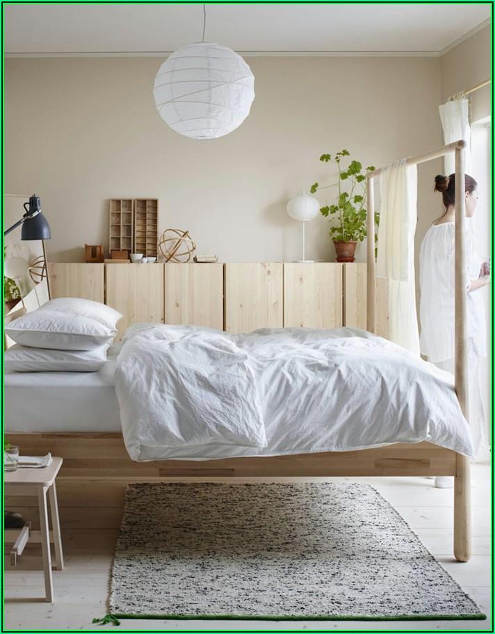 Wohn Schlafzimmer Einrichtungsideen Ikea