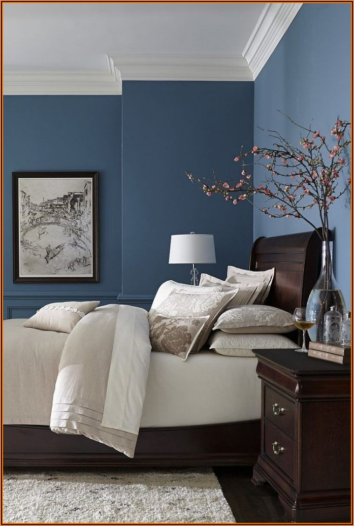 Blaues Schlafzimmer Bilder