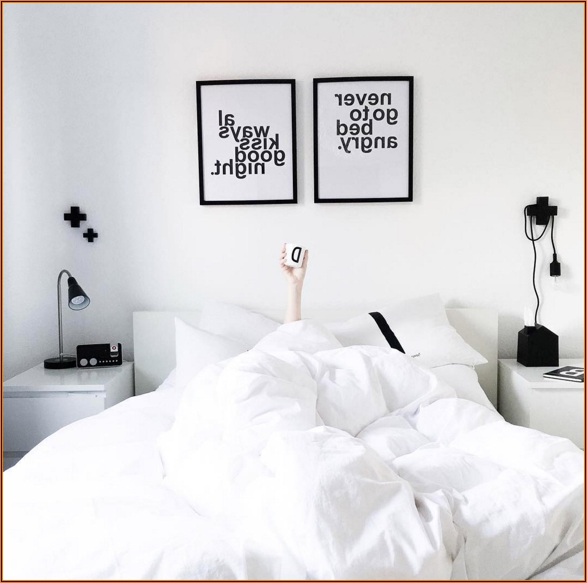 Schwarz Weiß Bilder Für Schlafzimmer