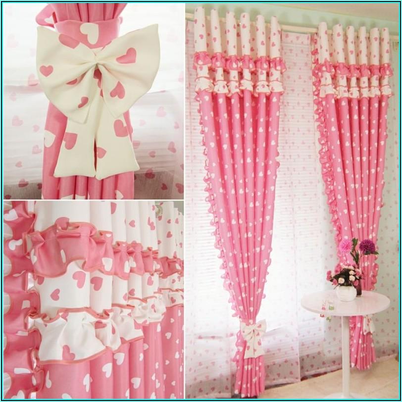 Vorhang Kinderzimmer Mädchen