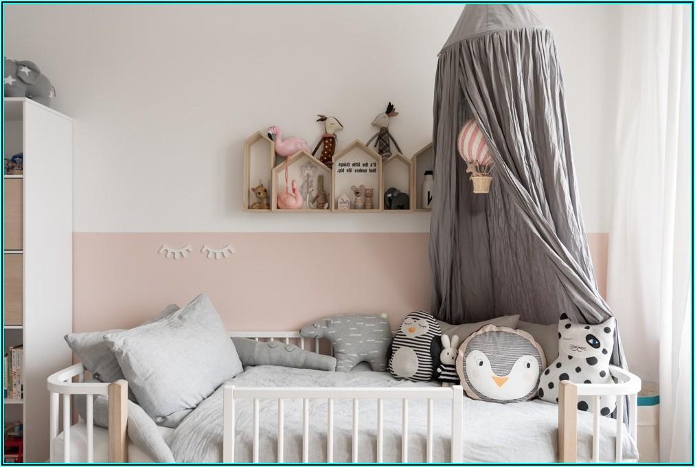 Wand Halbhoch Streichen Kinderzimmer