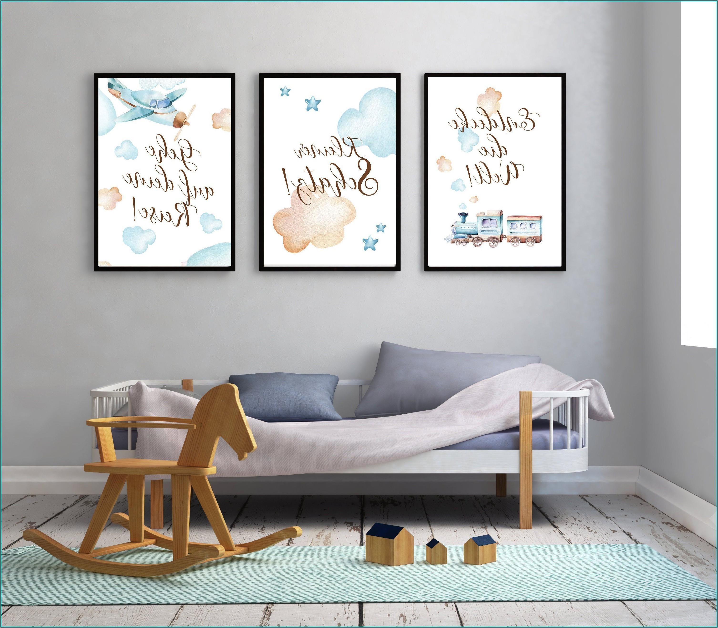 Wandbilder Kinderzimmer Junge
