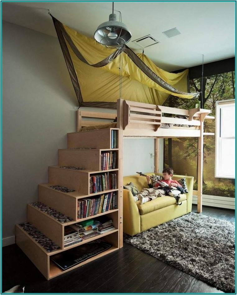 Zweite Ebene Im Kinderzimmer Bauen