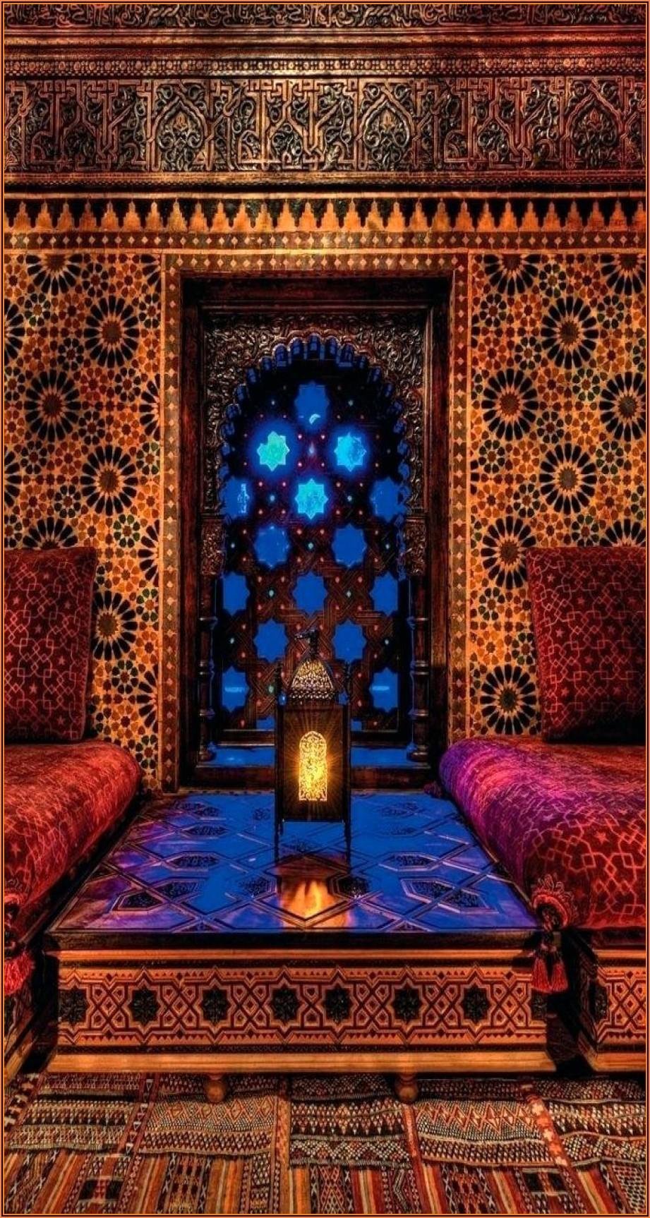 Arabische Deko Wohnzimmer Orientalisch Einrichten