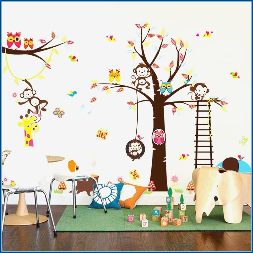 Babyzimmer Sticker Gestalten