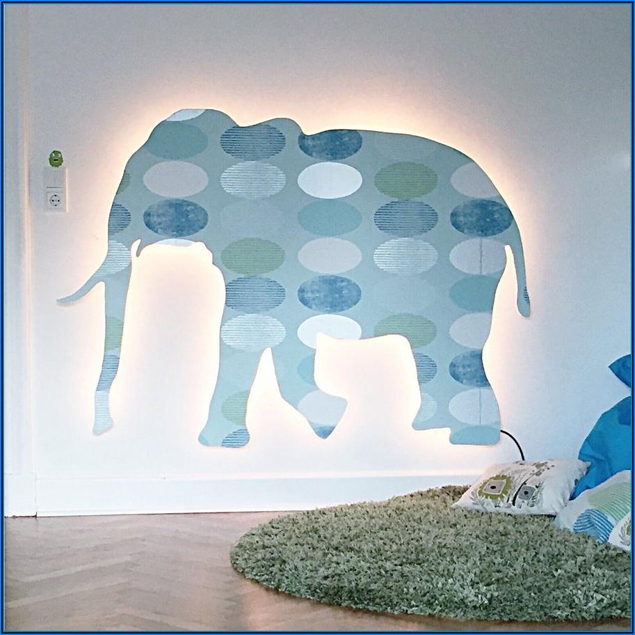 Babyzimmer Tapete Elefant
