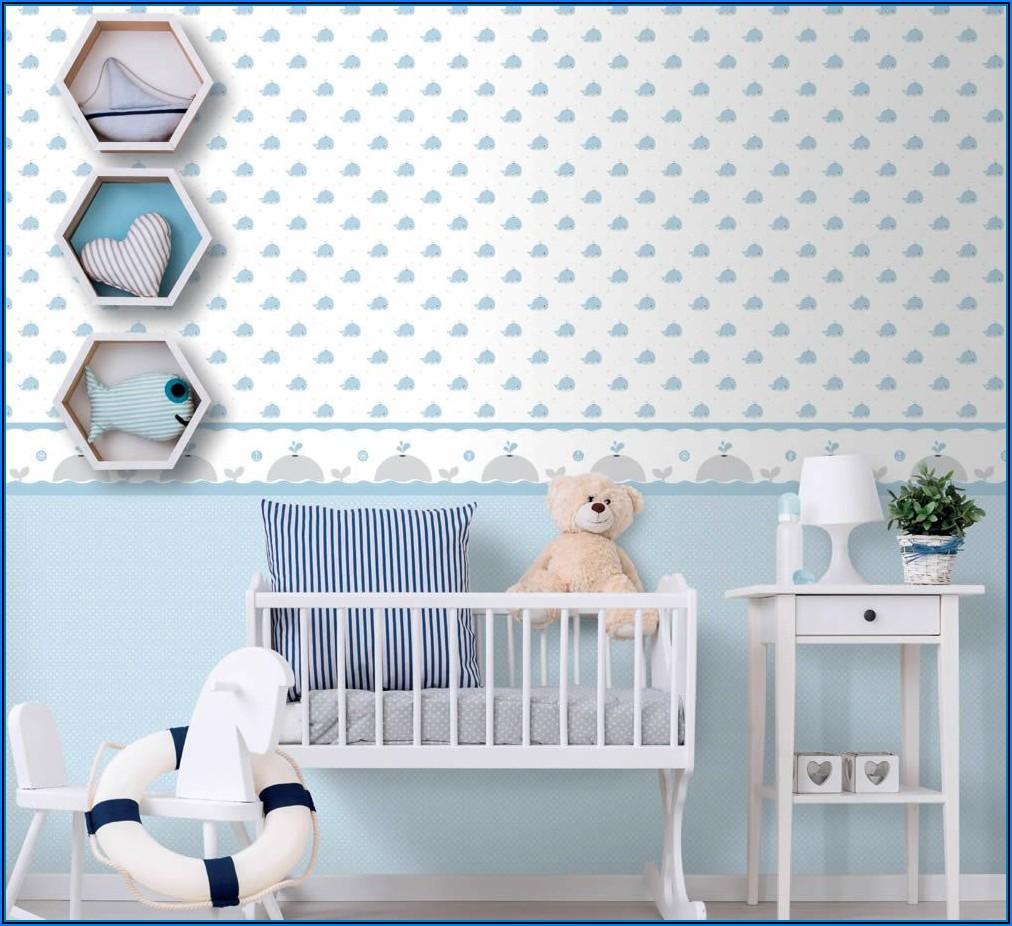 Babyzimmer Tapete Junge
