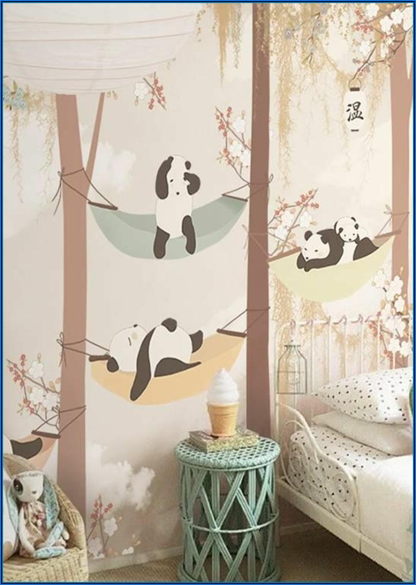 Babyzimmer Tapete Tiere