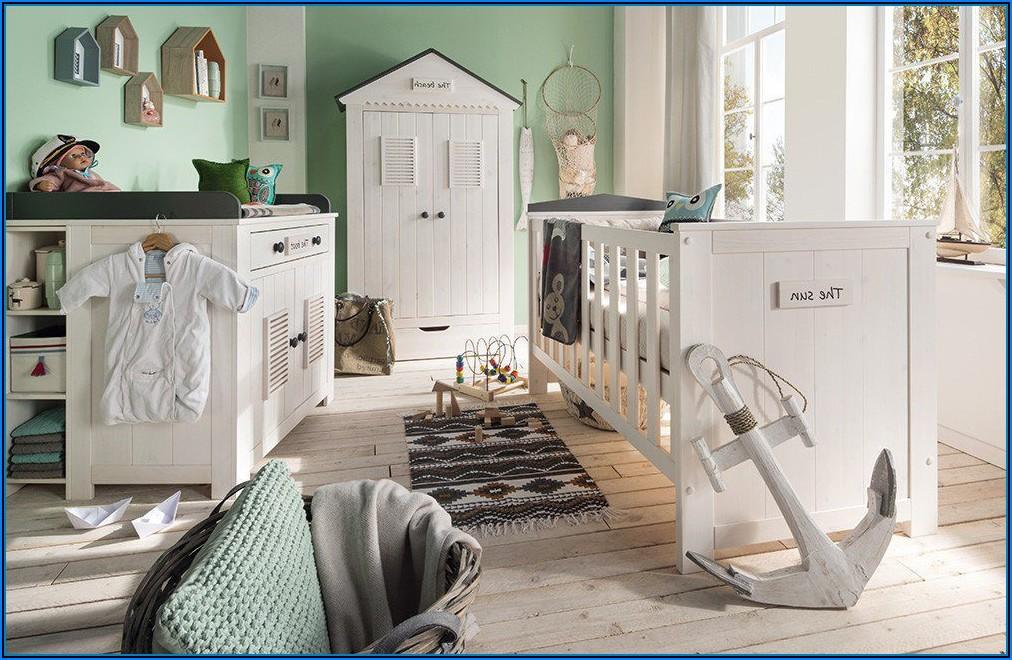 Babyzimmer Vollholz Weiß