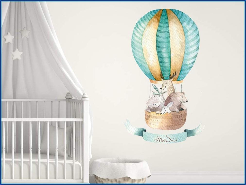 Babyzimmer Wand Mint