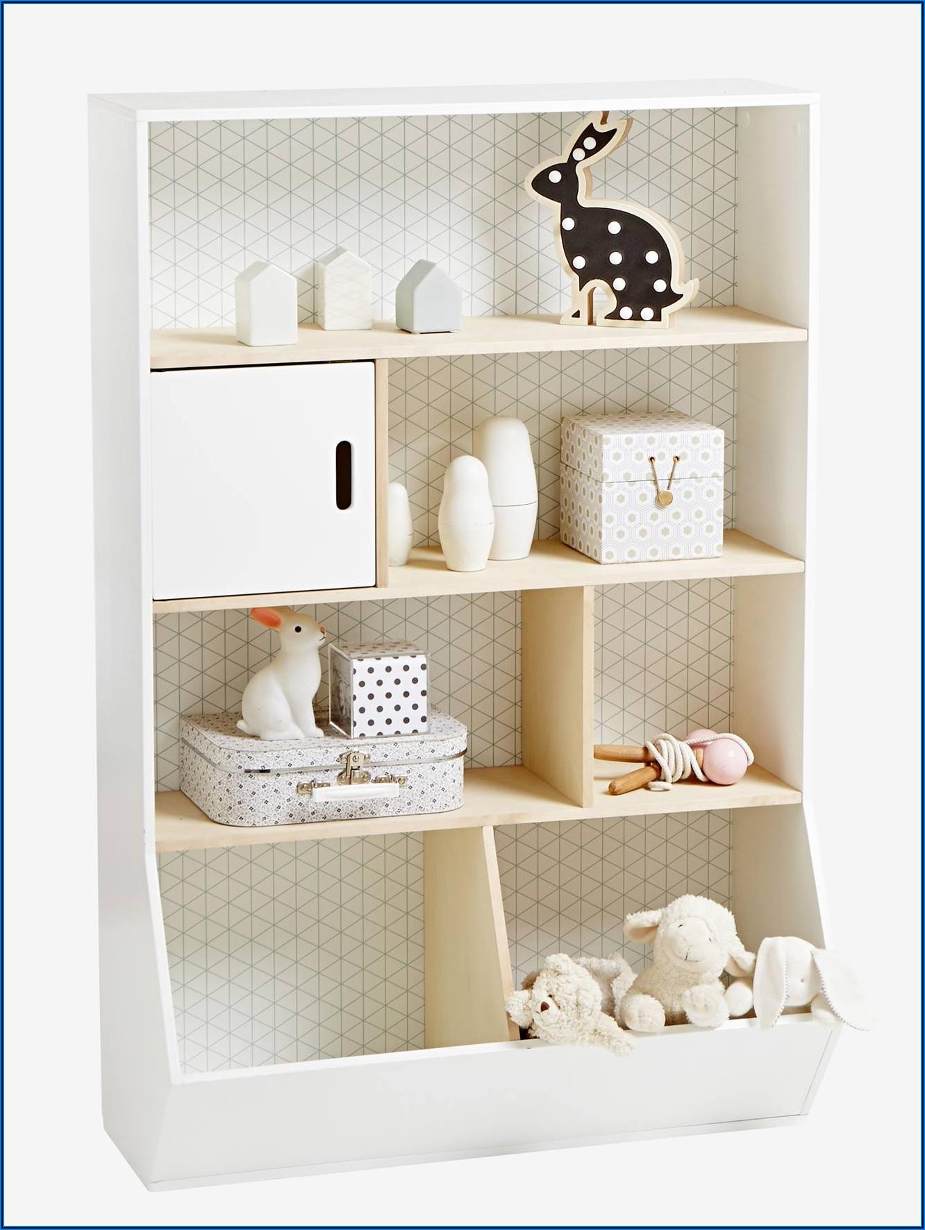 Babyzimmer Wandregal Weiß