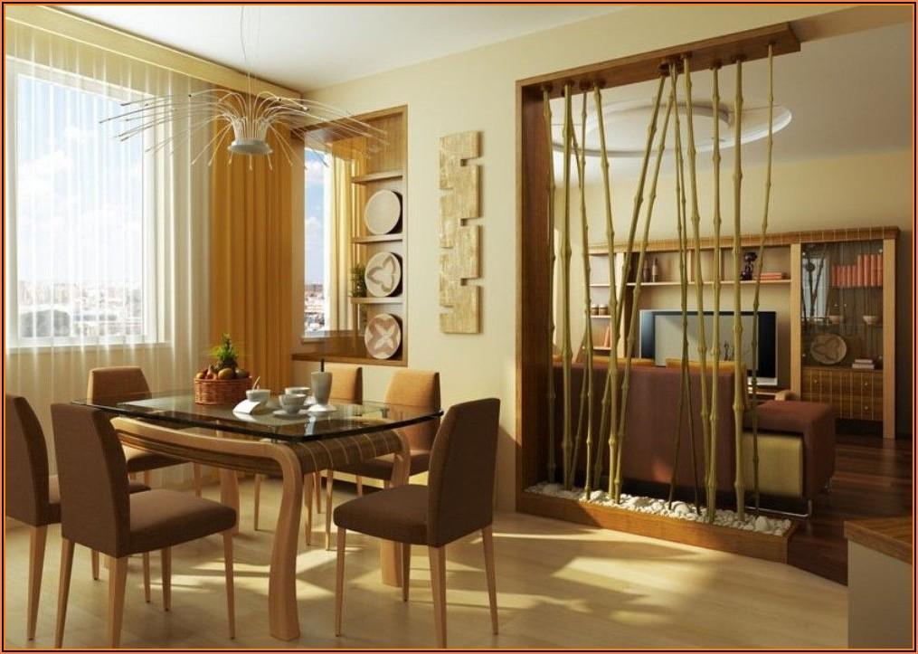 Bambus Deko Wohnzimmer
