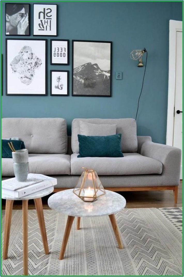 Deko Blau Wohnzimmer