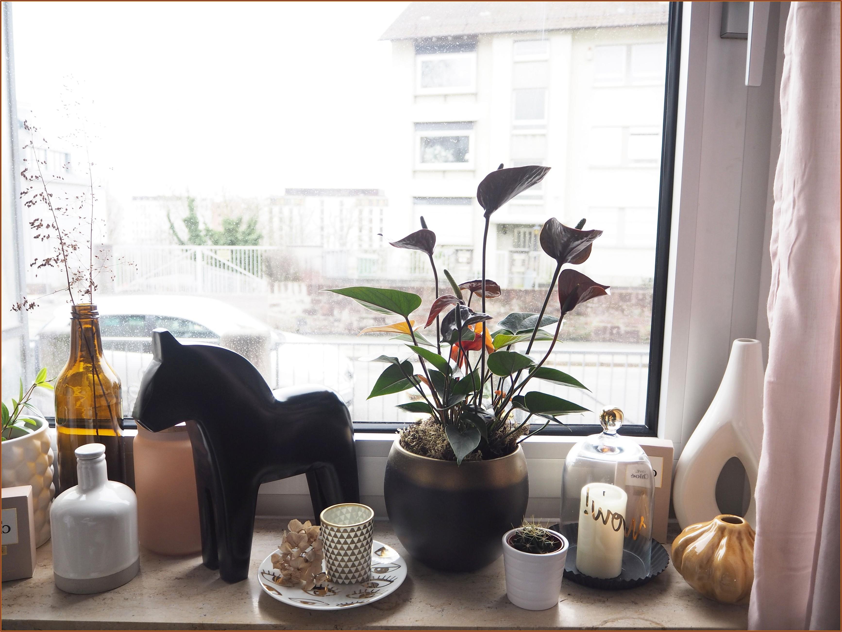 Deko Für Schlafzimmer Fensterbank