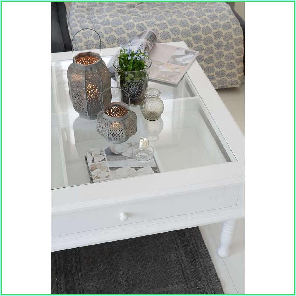 Deko Für Wohnzimmer Glastisch