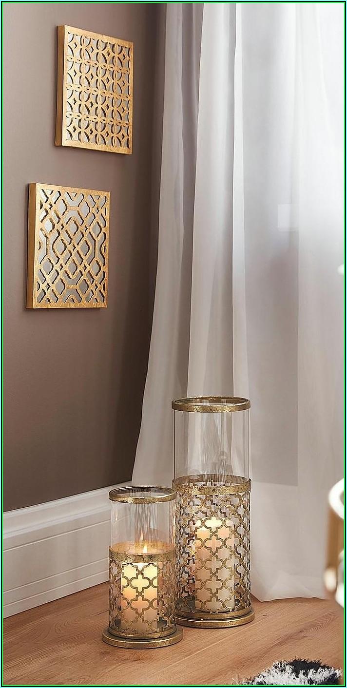 Deko Gold Wohnzimmer