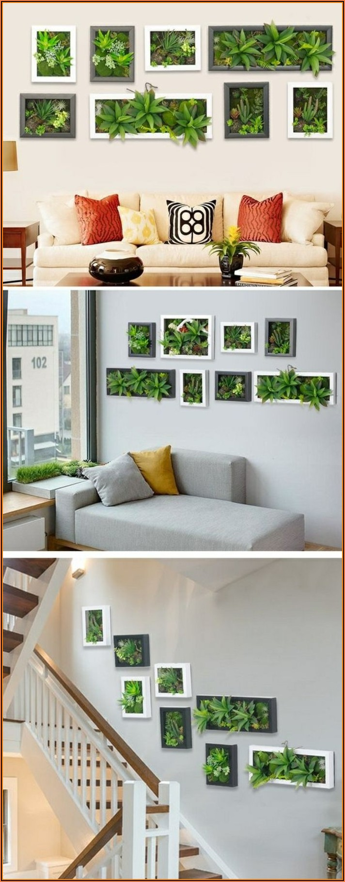 Deko Ideen Pflanzen Wohnzimmer