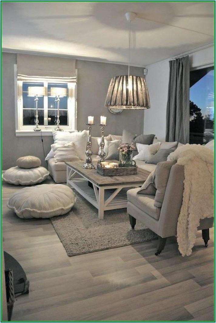 Deko Ideen Wohnzimmer Silber