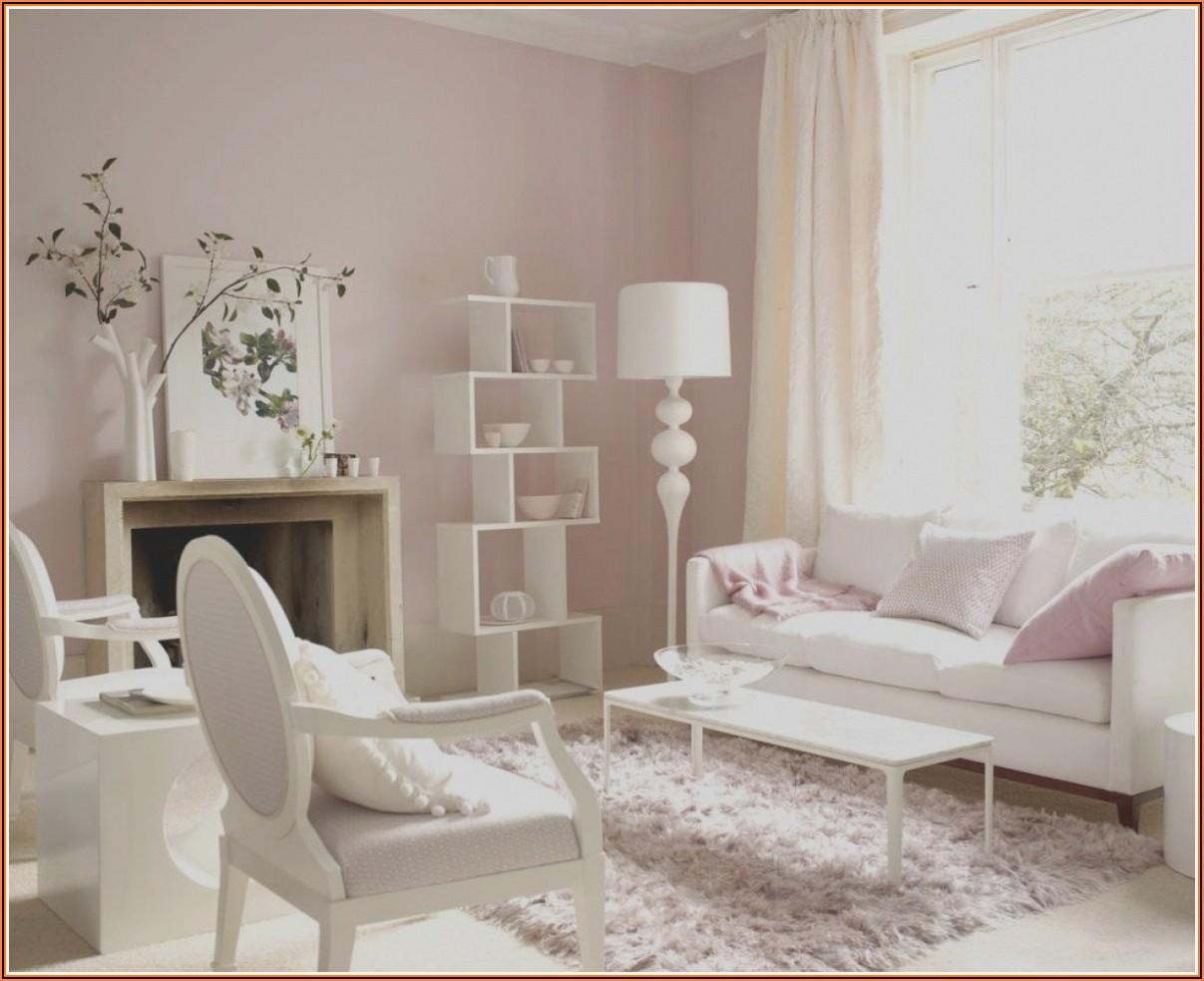 Deko Rosa Gold Wohnzimmer