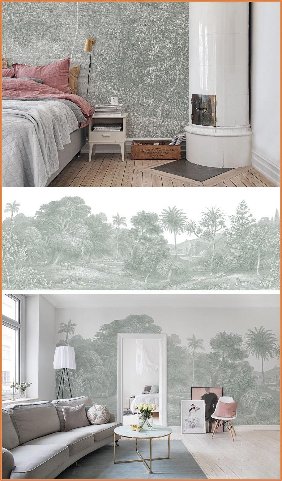 Deko Tapete Schlafzimmer
