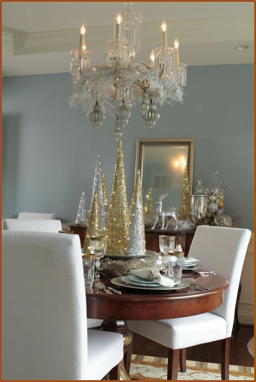 Deko Wohnzimmer Gold Silber