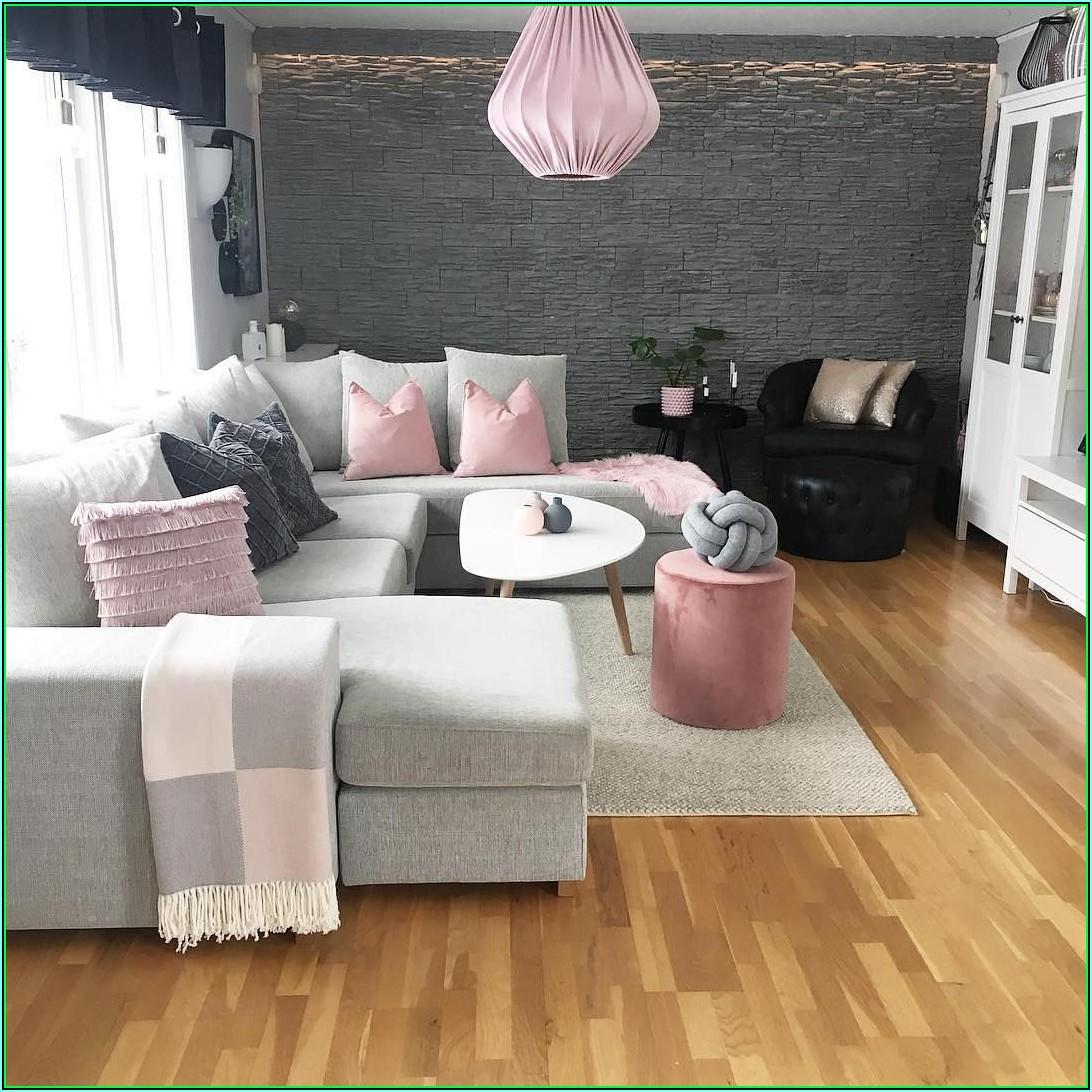 Deko Wohnzimmer Pink