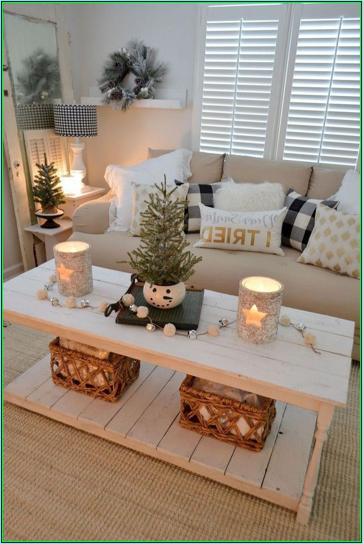 Deko Wohnzimmer Winter