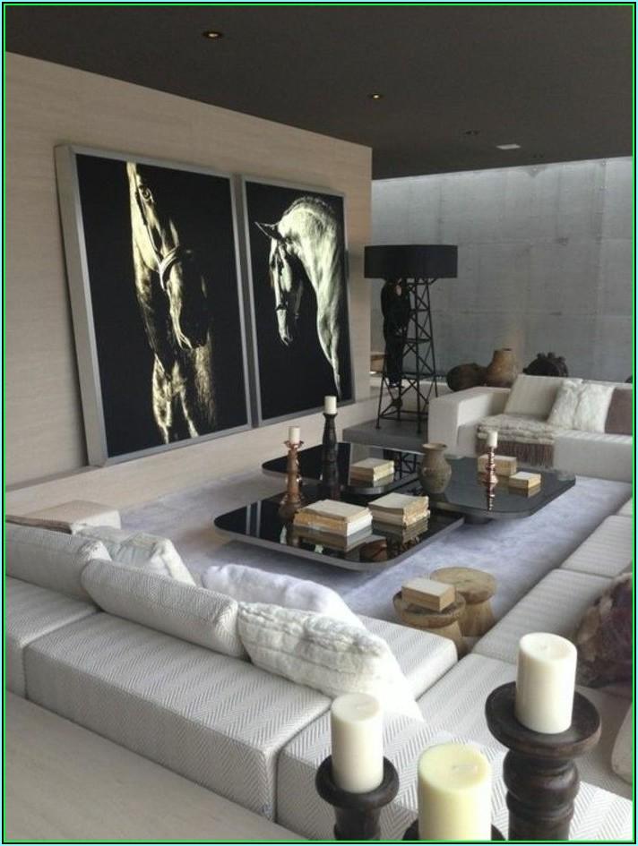 Dekoration Silber Wohnzimmer