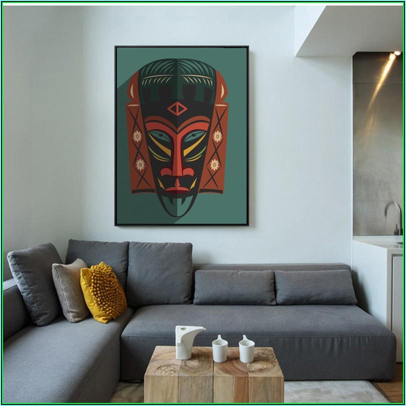 Dekoration Wohnzimmer Afrika