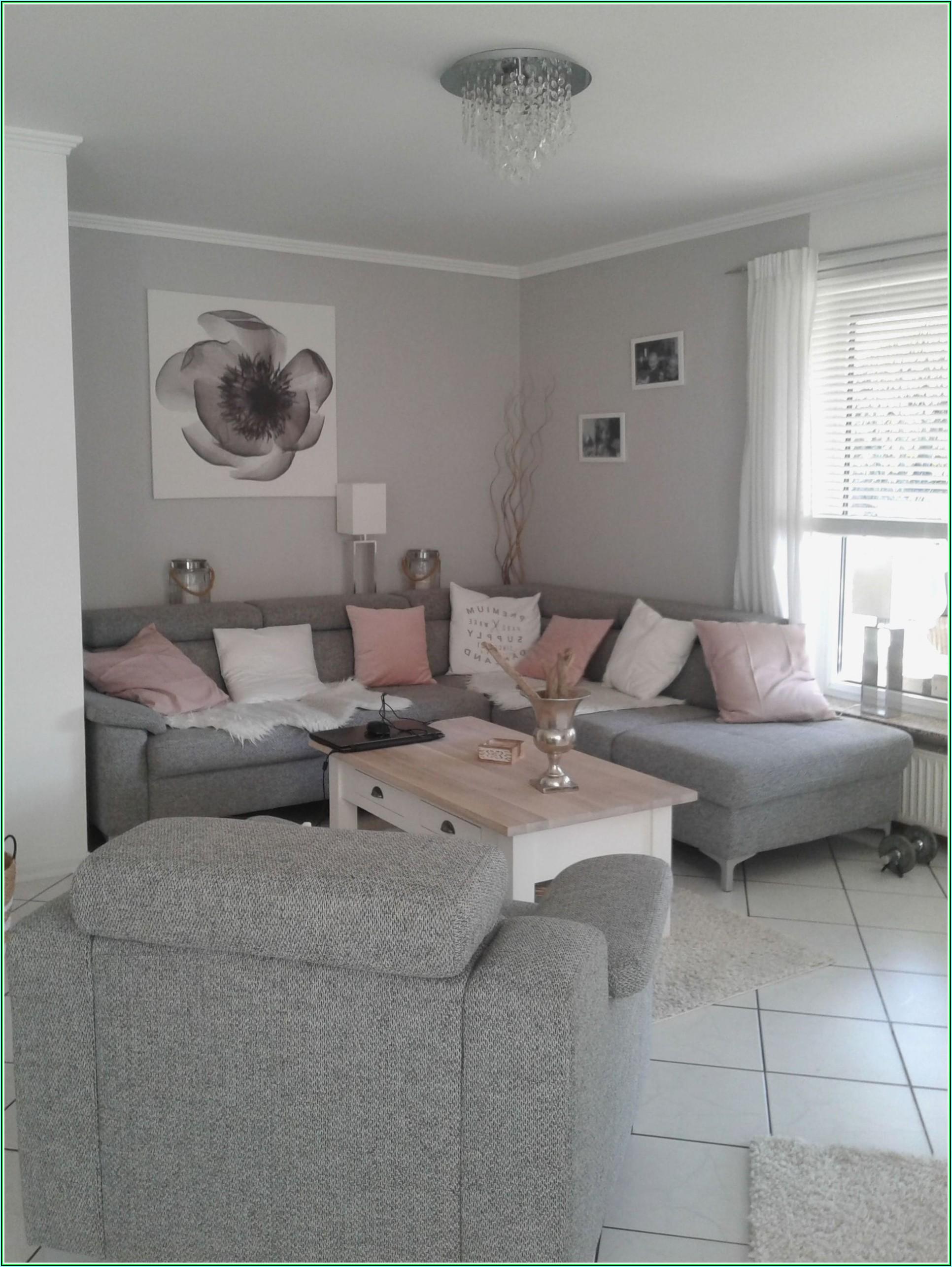 Dekoration Wohnzimmer Rosa