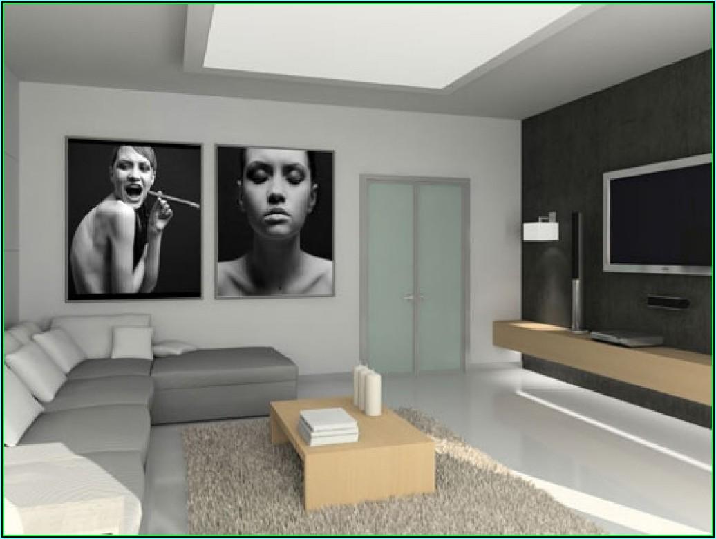 Dekoration Wohnzimmer Schwarz