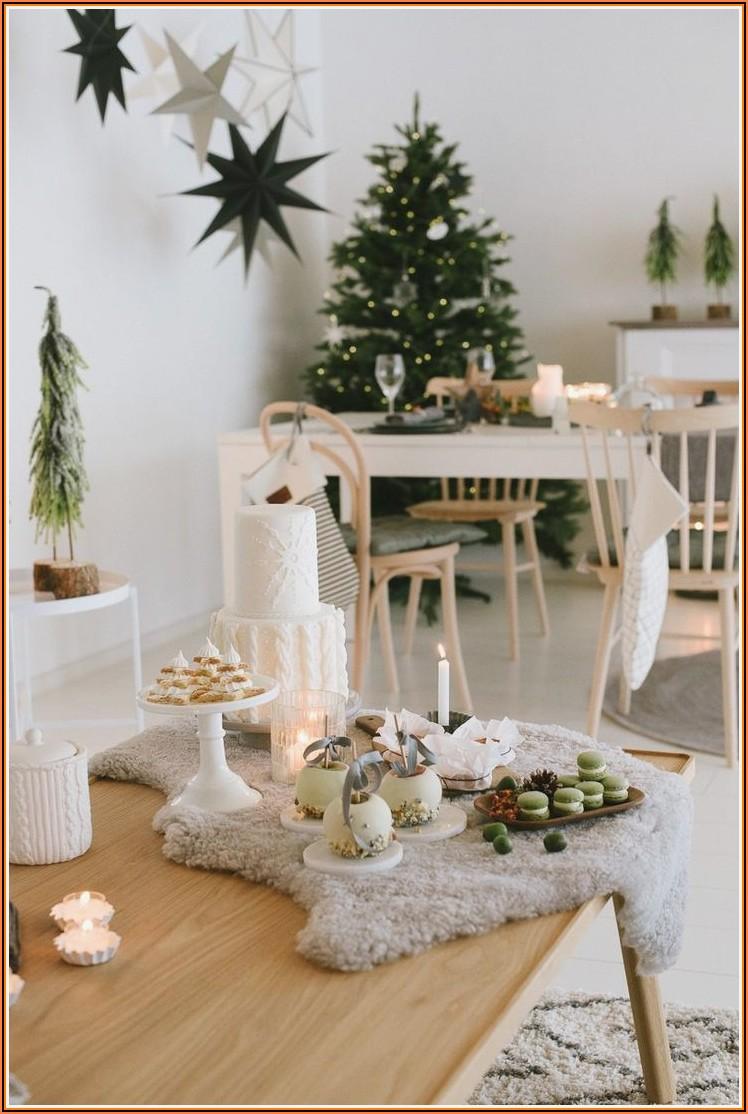 Dekoration Wohnzimmer Weihnachten