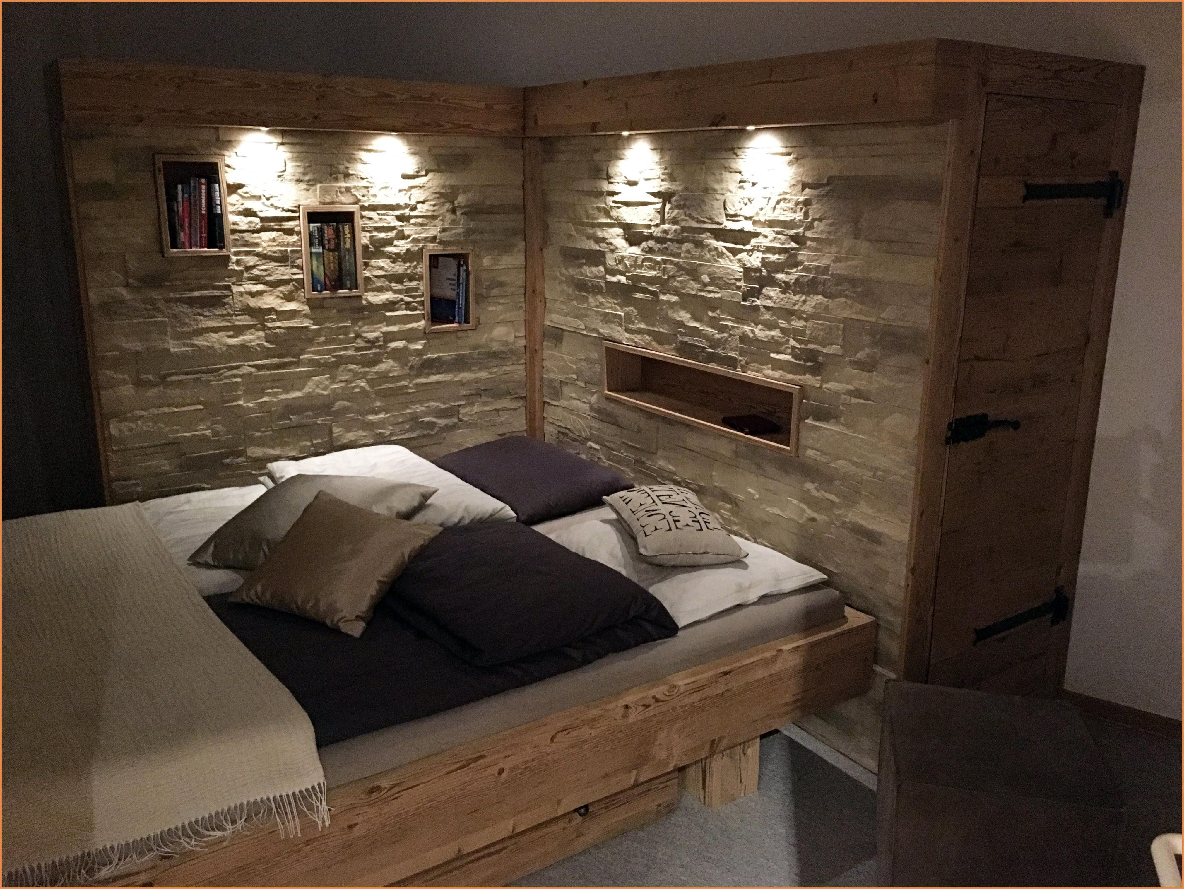 Dekorative Wandgestaltung Schlafzimmer