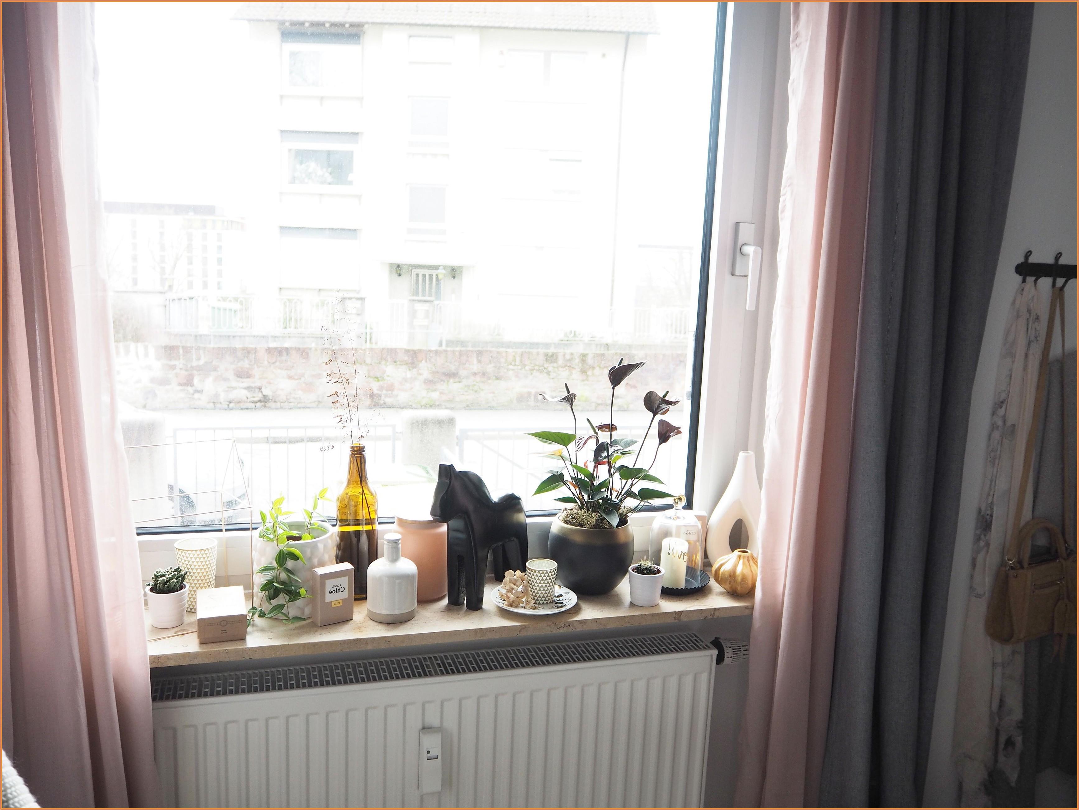 Fensterbank Deko Schlafzimmer