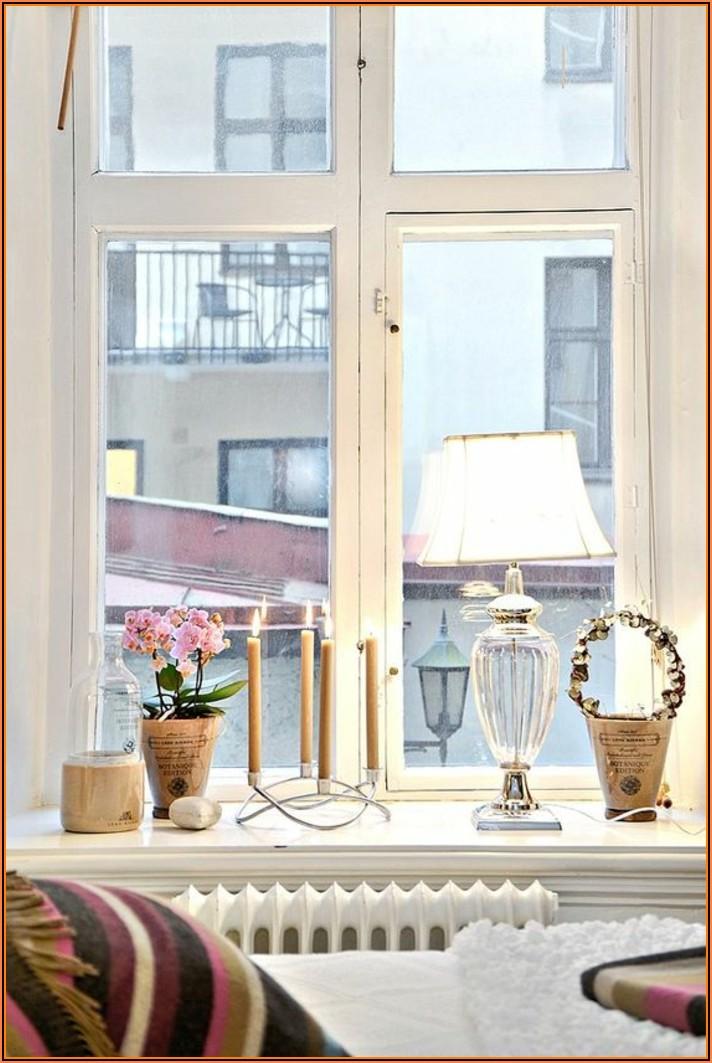 Fensterbank Dekorieren Schlafzimmer