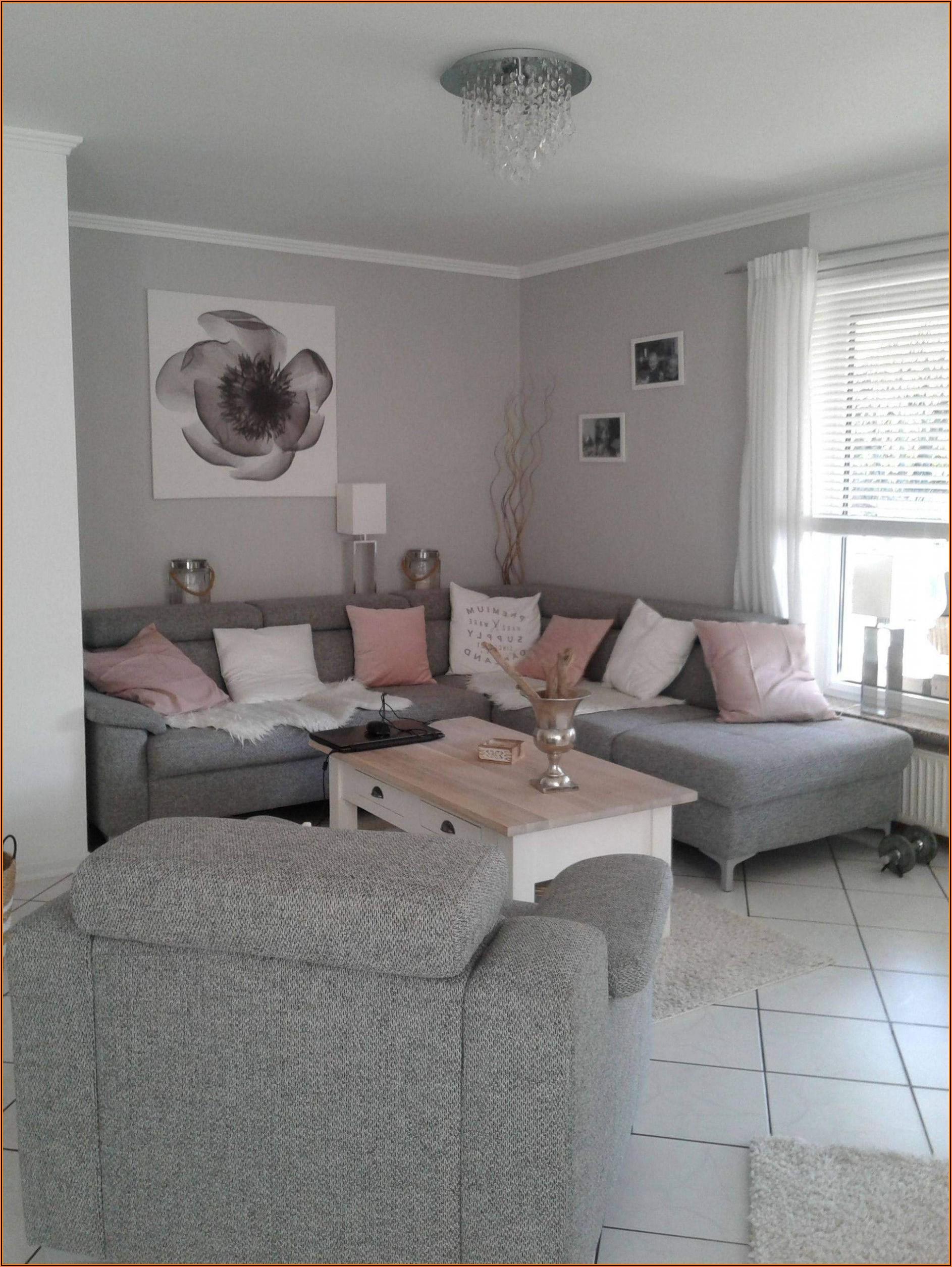 Grau Wohnzimmer Deko