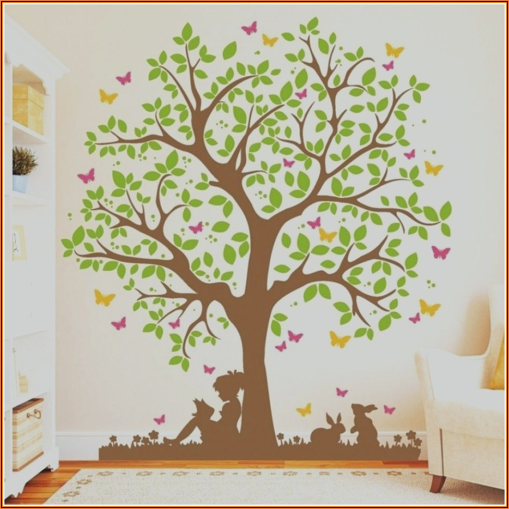 Holz Baum Wand Kinderzimmer