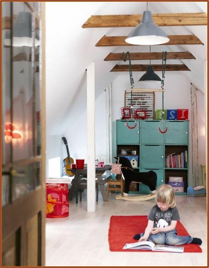 Ideen Für Kinderzimmer Mit Dachschräge