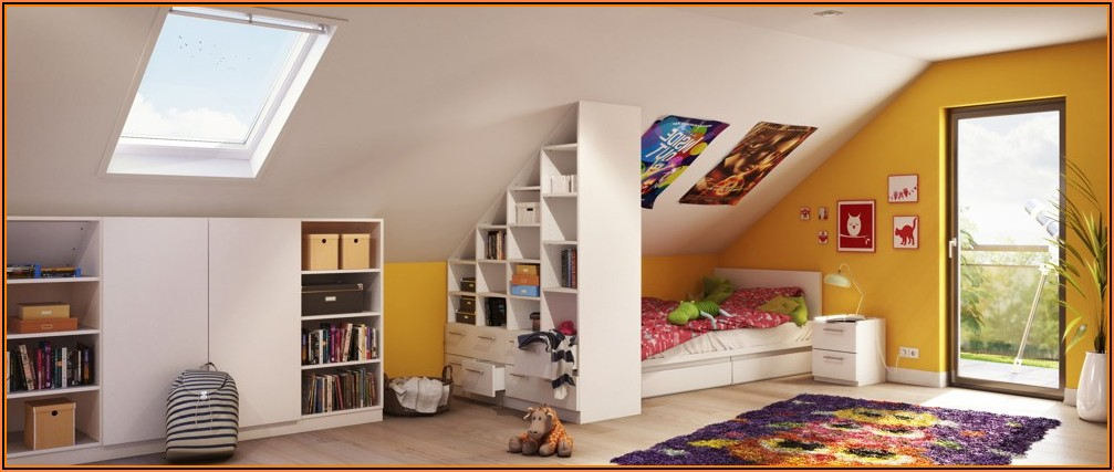 Jugendzimmer Mit Dachschräge Mädchen