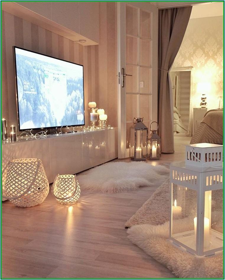 Kerzen Deko Wohnzimmer