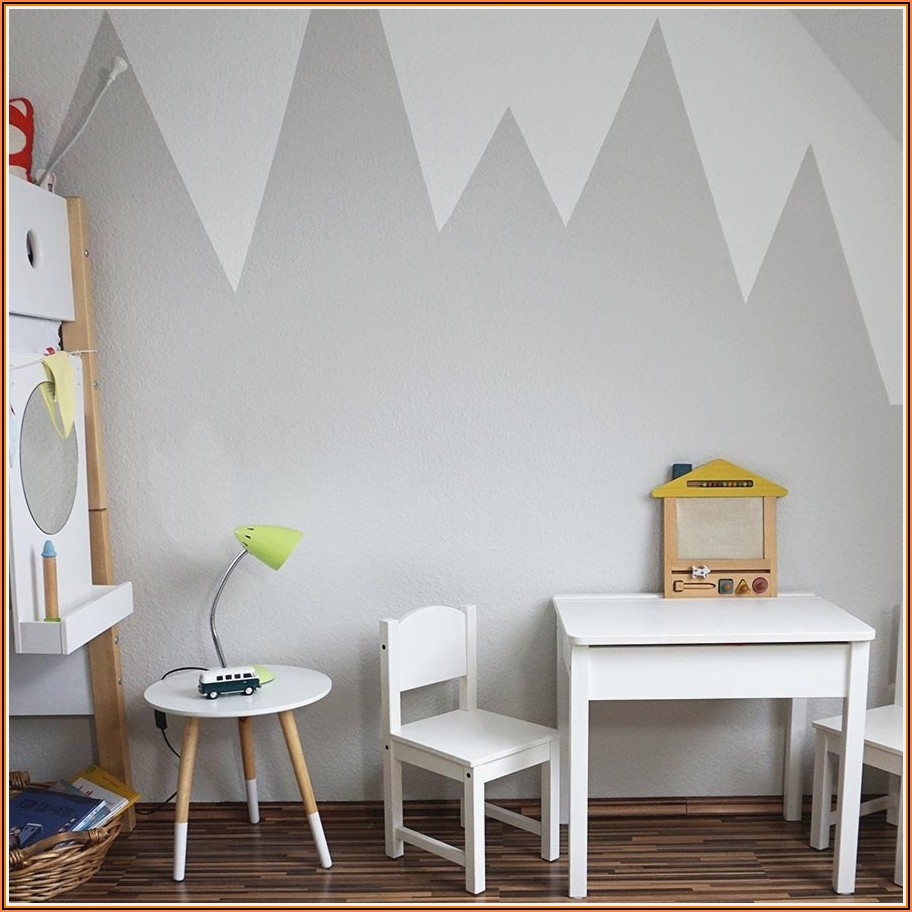 Kinderzimmer Berge Streichen Anleitung