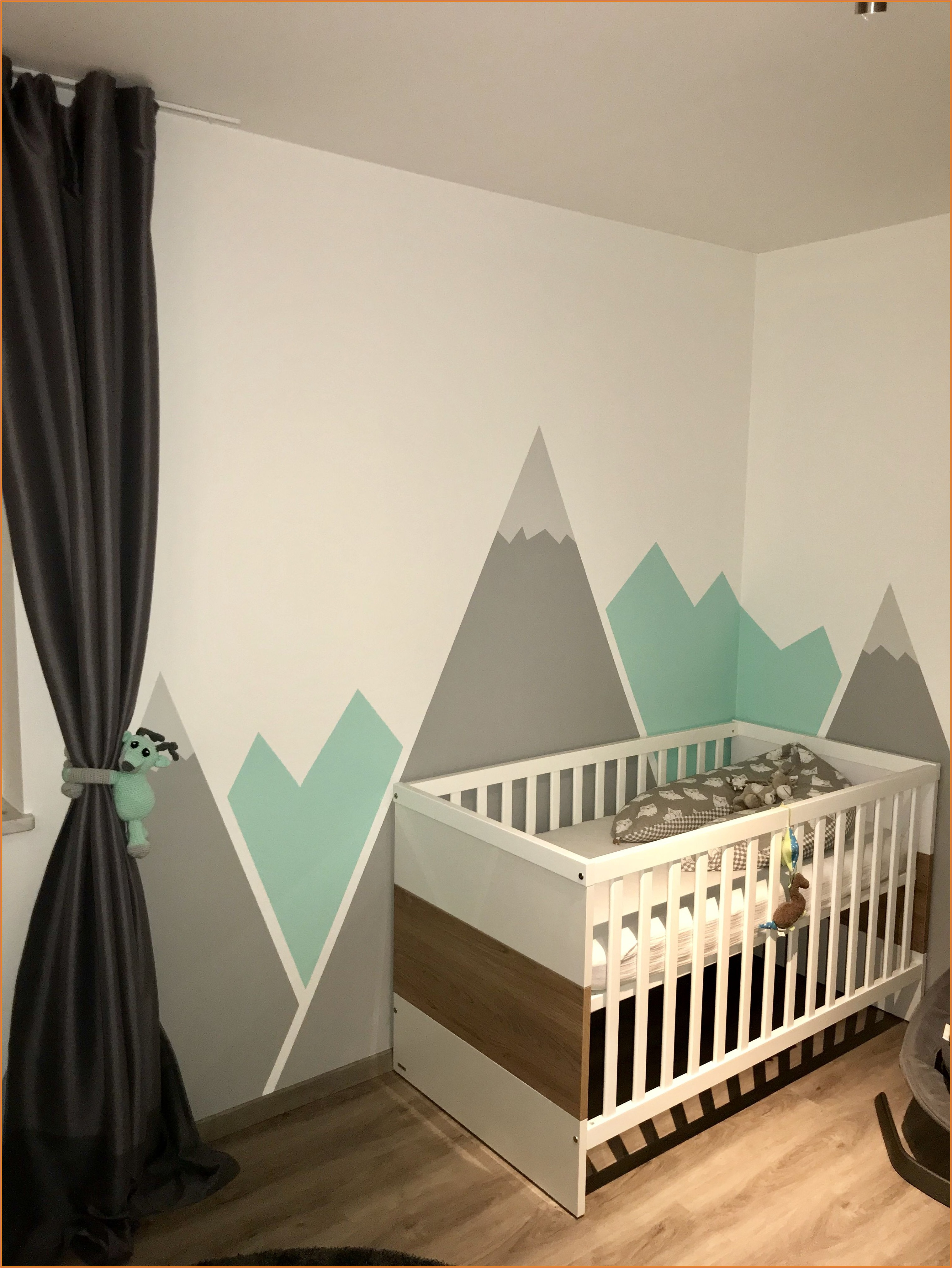 Kinderzimmer Deko Mint Grau