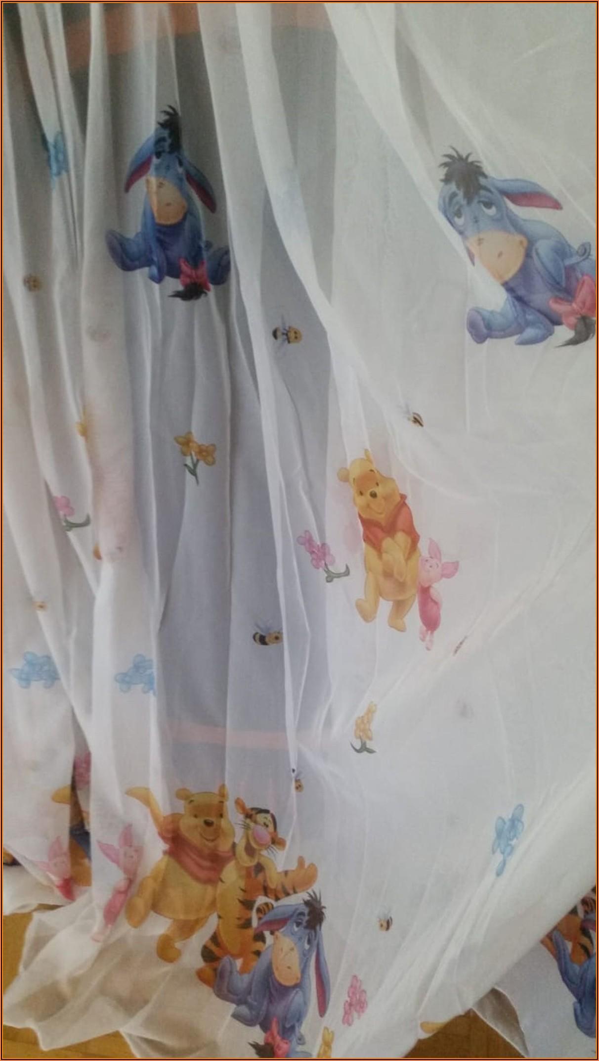Kinderzimmer Gardine Winnie Pooh