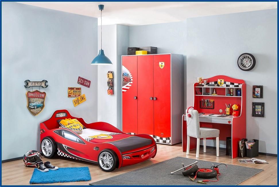 Kinderzimmer Grau Rot