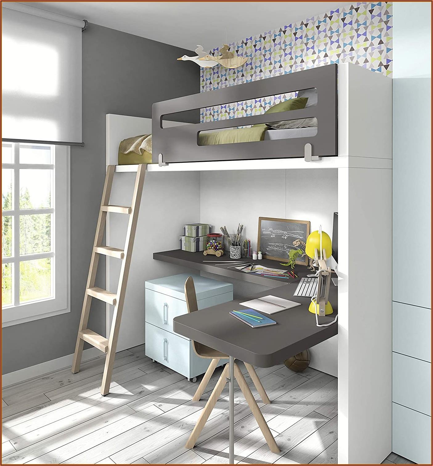 Kinderzimmer Hochbett Mit Schreibtisch